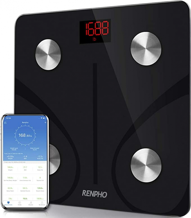 ihocon: RENPHO Body Fat Scale Smart BMI Scale 智能體脂體重秤