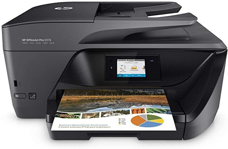 ihocon: HP OfficeJet Pro 6978 All-in-One Wireless Printer, HP Instant Ink, Works with Alexa 無線多功能印表機