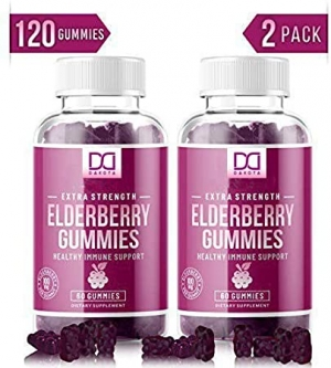ihocon: [提昇免疫力] Mix Rx Organic Elderberry Gummies for Immune System (2 Pack) 有機接骨木漿果軟糖