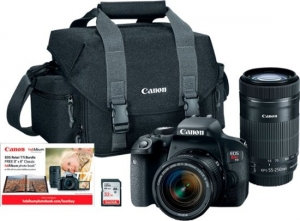 ihocon: Canon EOS Rebel T7i DSLR Two Lens Kit with 18-55mm and 55-250mm Lenses