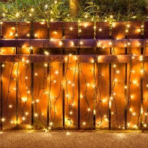 Squoti 105呎/30公尺 庭園裝飾燈 $10.36免運(原價$25.90)