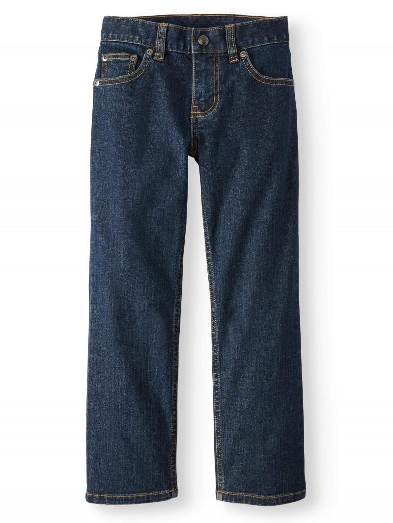 ihocon: Wonder Nation Boys Relaxed Jeans, Sizes 4-16 & Husky  男童牛仔褲