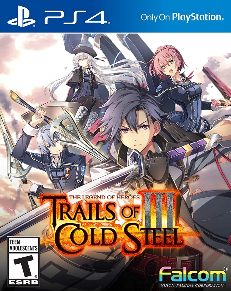 [新低價] PlayStation 4 遊戲 – The Legend of Heroes: Trails of Cold Steel III  $26.97免運(原價$59.99)