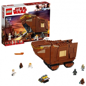 ihocon: LEGO Star Wars Sandcrawler Building Kit, Multicolor