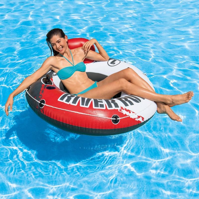 ihocon: Intex Inflatable Red River Run I Pool Tube, 53  充氣泳池坐躺圈