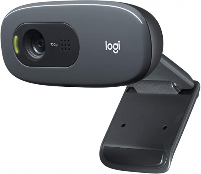 ihocon: Logitech C270 Desktop or Laptop Webcam 高清網絡攝像頭