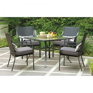 ihocon: Mainstays Alexandra Square 5-Piece Outdoor Patio Dining Set庭園餐桌椅組