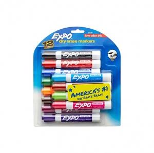EXPO 低氣味白板筆 12枝 $7.99(原價$17.99)