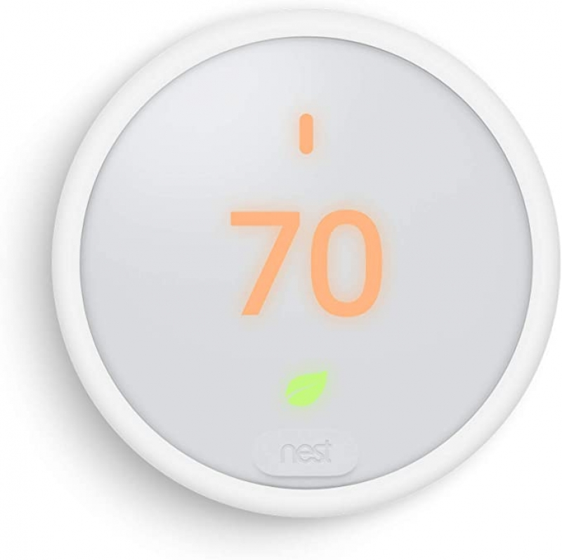 ihocon: Google Nest Thermostat E - Programmable Smart Thermostat for Home - 3rd Generation Nest Thermostat - Works with Alexa  智能冷,暖氣室內温度控制器