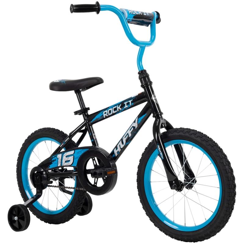 ihocon: Huffy 16 Rock It Boys Bike for Kids, Blue  兒童自行車