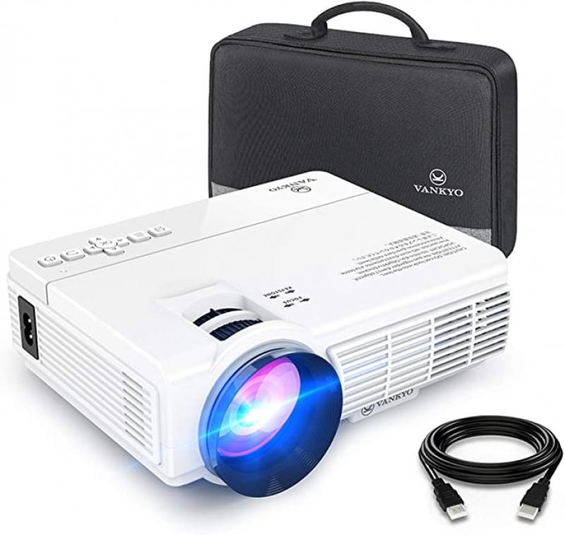 ihocon: Vankyo Leisure 3 1080p Mini LED Portable Projector 迷你投影機