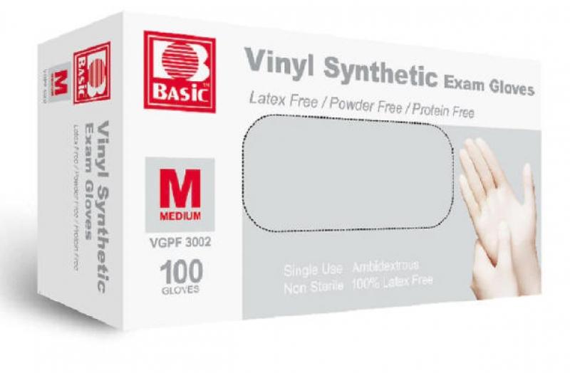 ihocon: Intco Basic Vinyl Powder-Free Gloves, Large 一次性手套 100個