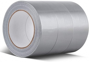 ihocon: Professional Grade Duct Tape, Silver, 48mm x 32m (1.88 Inch x 35 Yards), 8.27mil Thick (Pack of 3) 膠帶
