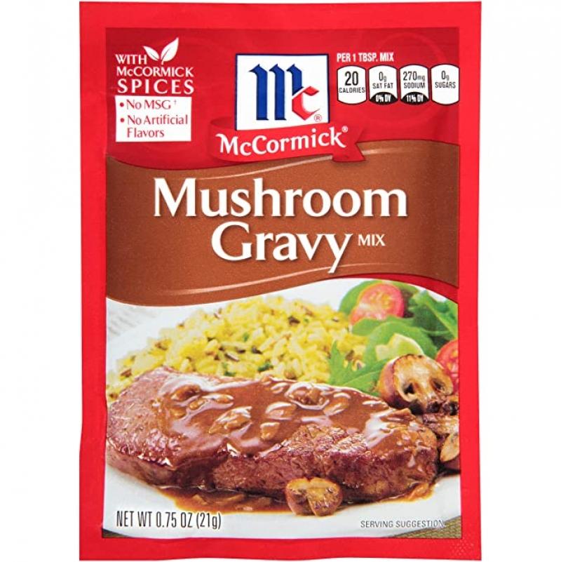 ihocon: McCormick Mushroom Gravy Mix, 0.75 oz