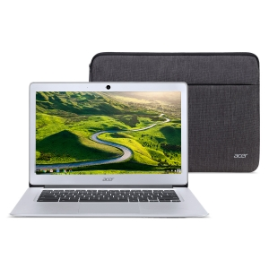 ihocon: Acer CB3-431-12K1 14 HD Chromebook with Intel Quad Core Atom x5-E8000 / 4GB / 32GB / Chrome OS + Protective Sleeve