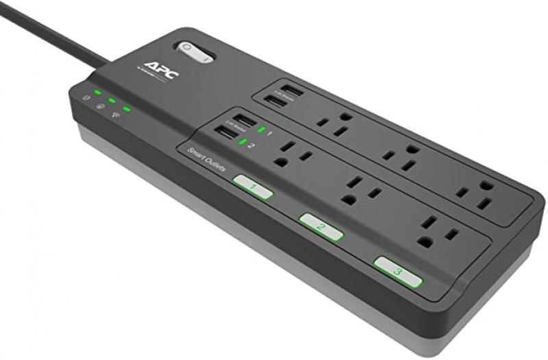 ihocon: APC Smart Plug Wi-Fi Power Strip with USB Ports智能延長線/電源板