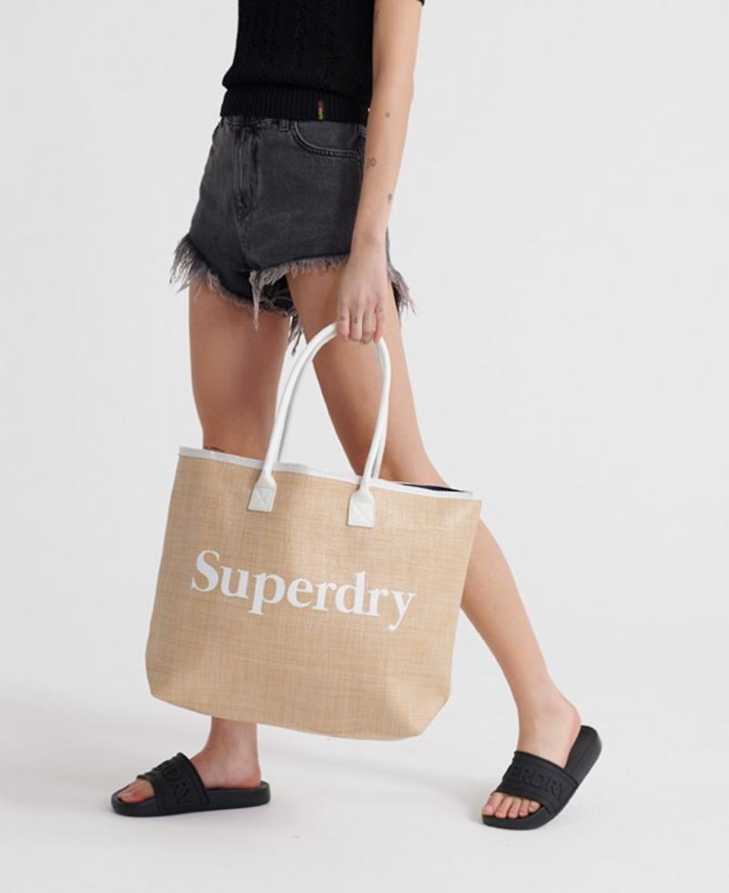 ihocon: Superdry極度乾燥 Darcy Jute Tote Bag 手提袋