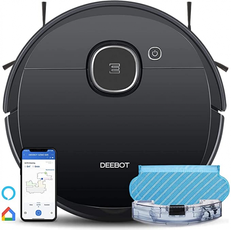 ihocon: Ecovacs DEEBOT OZMO 920 2-in-1 Vacuuming & Mopping Robot 2合1 吸地/拖地機器人