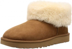 ihocon: UGG Women's Classic Mini Fluff Ankle Boot 迷你女靴