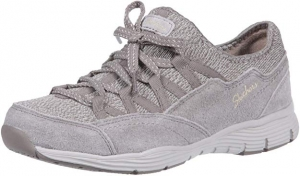 ihocon: Skechers Women's Seager-Zip Line-Fixed Bow Quarter Fit Slip-on Sneaker 女鞋