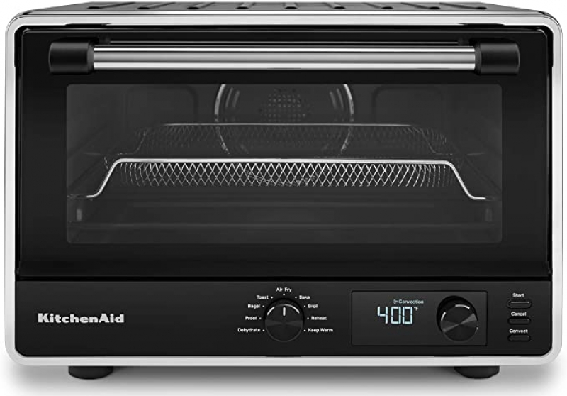 ihocon: KitchenAid KCO124BM Digital Countertop Oven with Air Fry 氣炸烤箱