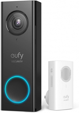 ihocon: Eufy Security Wi-Fi 2K HD Video Doorbell with 2-Way Audio + Free Wireless Chime 智能視頻門鈴 + 無線門鈴