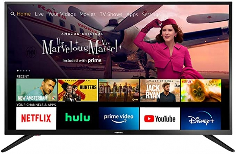 ihocon: [2020新款] Toshiba 43吋 Smart HD 1080p TV - Fire TV Edition