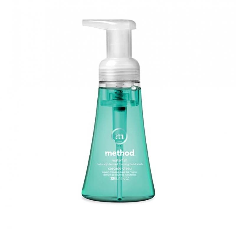 ihocon: Method Foaming Hand Soap, Waterfall, 10 Ounce 泡沫式洗手液皂