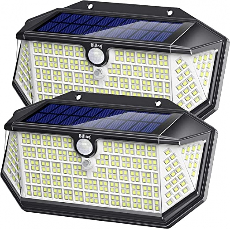 ihocon: Biling Solar Lights Outdoor (2 Pack) 太陽能動作感應室外燈 2盞