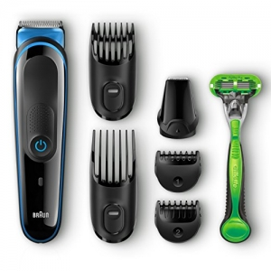 ihocon: Braun MGK3040 Men's Hair/Head Trimming Kit男士理髮/修容組