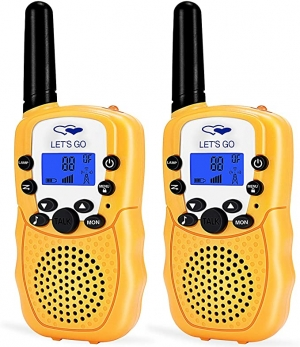 ihocon: ATOPDREAM Long Range Walkies Talkies for Kids D388 兒童對講機