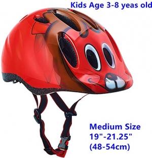 ihocon: Exclusky Kids Bike Helmets Lightweight Adjustable (Ages 5-13) 兒童自行車頭盔
