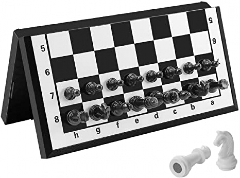 ihocon: FanVince Chess Set Magnetic Travel Folding Board Games 磁性西洋棋