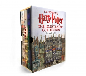 ihocon: Harry Potter: The Illustrated Collection (Books 1-3 Boxed Set) 哈利·波特插畫版精裝本