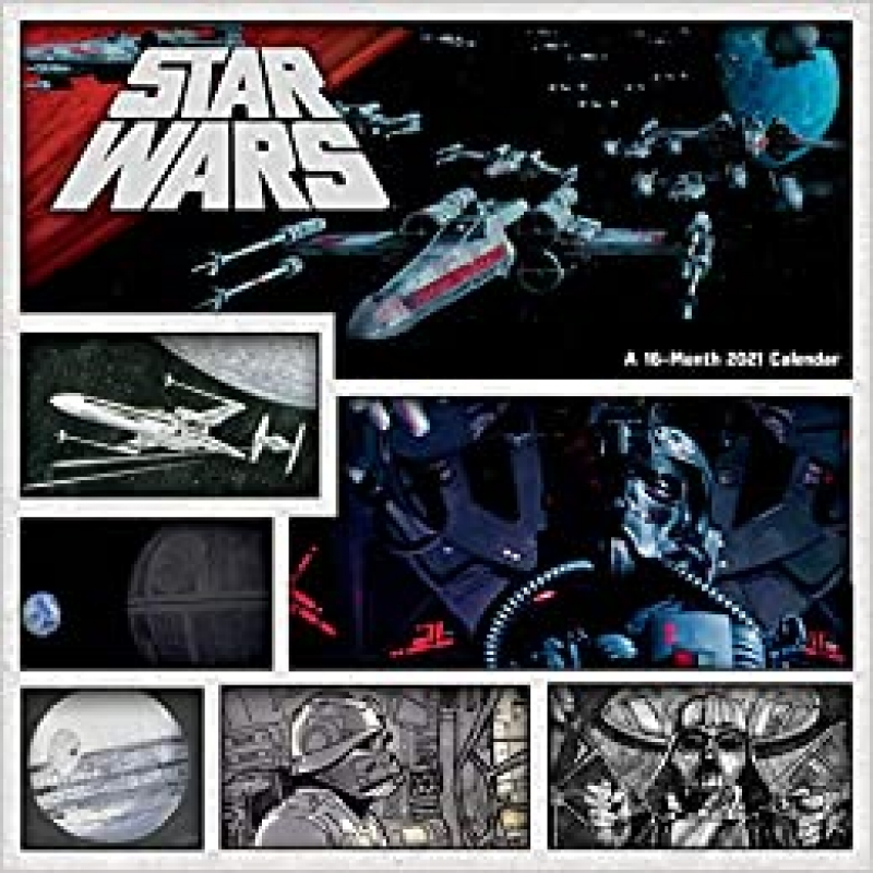 ihocon: 2021 Star Wars Wall Calendar 星球大戰月曆