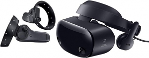 ihocon: Samsung HMD Odyssey+ Windows Mixed Reality Headset with 2 Wireless Controllers虛擬實境頭戴顯示器及2個無線控制器