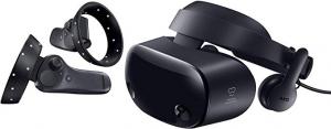 Samsung HMD Odyssey+ Windows Mixed Reality虛擬實境頭戴顯示器及2個無線控制器 $299.99免運(原價$499.99)