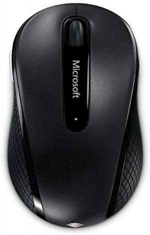 ihocon: Microsoft Wireless Mobile Mouse 4000 - Graphite (D5D-00001)無線滑鼠