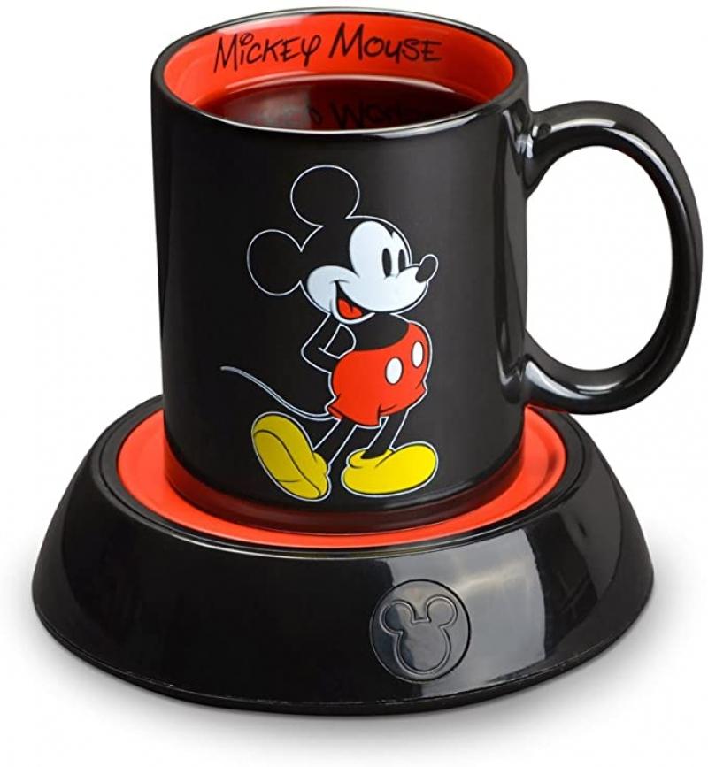 ihocon: Disney Mickey Mouse Mug Warmer 迪士尼米奇馬克杯及電熱暖杯器