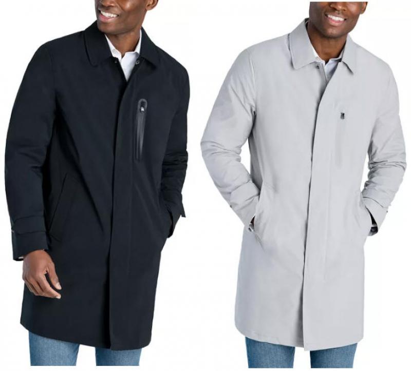 ihocon: Michael Kors Men's Hobbs Modern-Fit All Weather Raincoat  男士雨衣