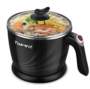 ihocon: Topwit Electric Hot Pot Mini, Electric Cooker, 1.2L 個人電煮鍋