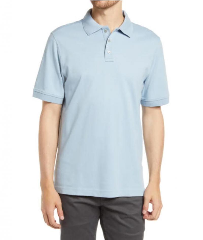 ihocon: NORDSTROM Regular Fit Interlock Polo 男士短袖衫