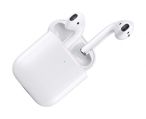 ihocon: [最新款] Apple AirPods with Wireless Charging Case 含無線充電盒