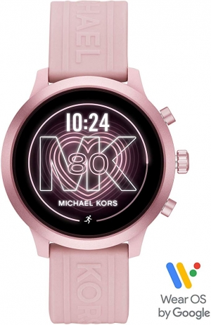 ihocon: Michael Kors Access MKGO Smartwatch- Lightweight Touchscreen Powered with Wear OS by Google with Heart Rate, GPS, NFC, and Smartphone Notifications智能錶