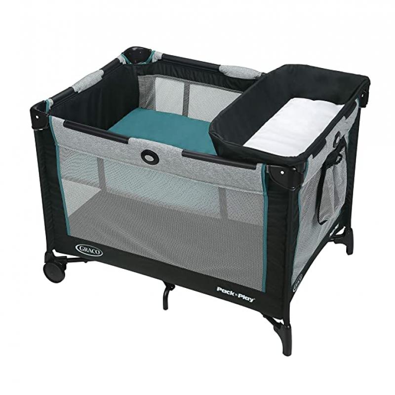 ihocon: Graco Pack 'n Play Playard Simple Solutions Portable Play yard (Darcie)嬰兒遊戲床