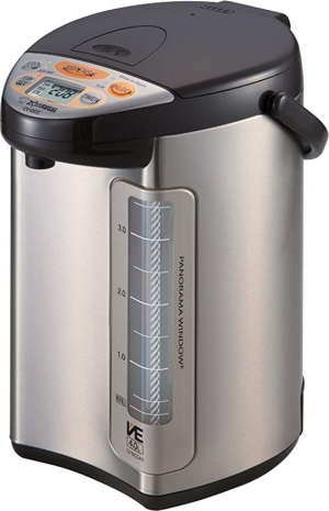 ihocon: Zojirushi America Corporation CV-DCC40XT Hybrid Water Boiler And Warmer, 4-Liter 象印不銹鋼熱水瓶