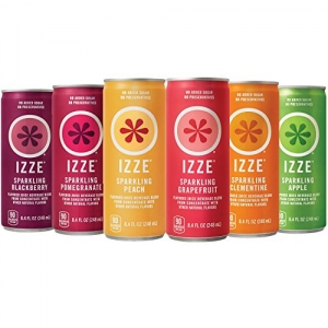 ihocon: IZZE 6 Flavor Sampler Variety Pack, 8.4oz Cans (Pack of 12)