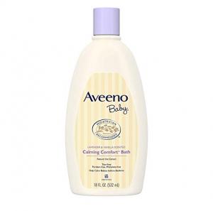 ihocon: Aveeno Baby Calming Comfort Bath, 18 Fl Oz 嬰兒沐浴