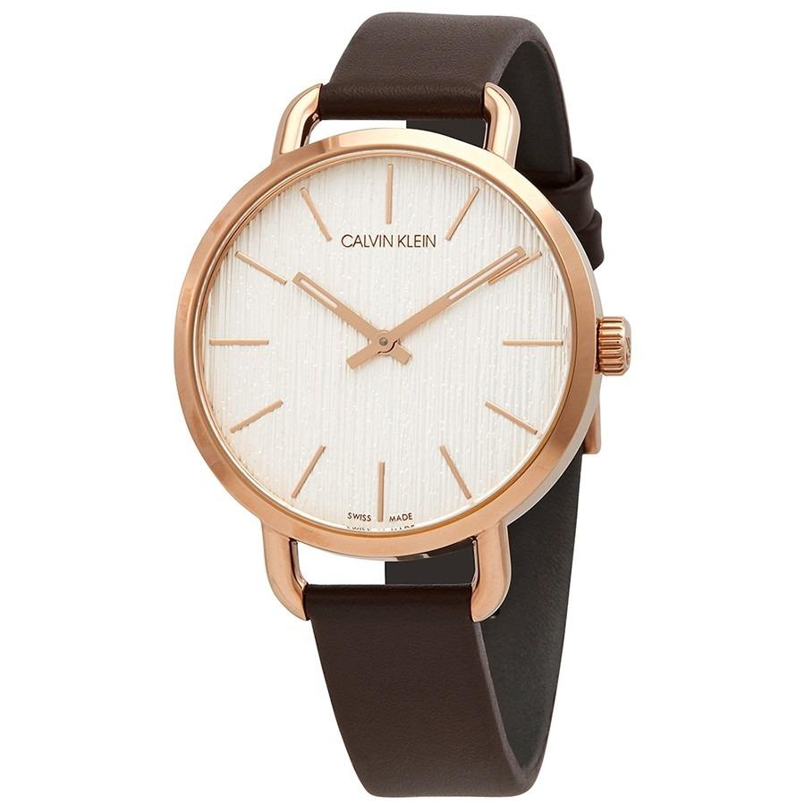 ihocon: Calvin Klein Even Quartz Silver Dial Ladies Watch 女錶