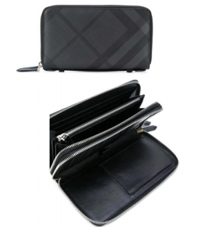 ihocon: Burberry London Check Travel Wallet